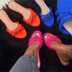 Shoes - Neon Slides all sizes available